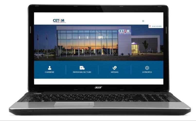 La CETAM lance son nouveau site Web!