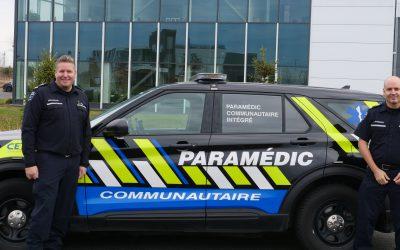 Un projet de paramédecine communautaire unique au Québec